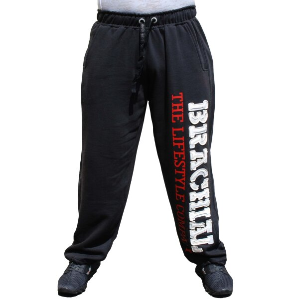 Brachial Tracksuit Trousers Gym black/white