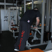 "Brachial Tracksuit Trousers ""Gym"" black/white"