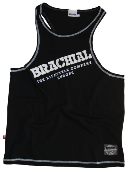 "Brachial Tank-Top ""Cool"" black/white"
