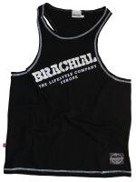 """Brachial Tank-Top """"Cool"""" black/white S"""