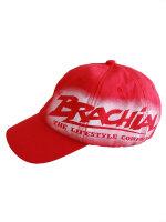 """Brachial Basecap """"Fame"""" rot S-M"""
