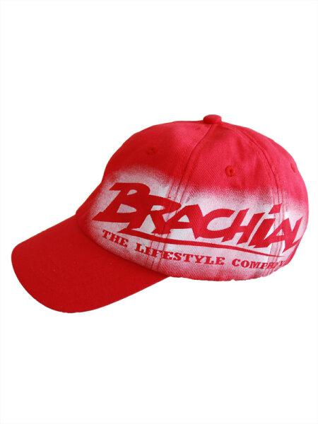 """Brachial Basecap """"Fame"""" rot L-XL"""