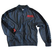 "Brachial Zip-Sweater ""Pain"" black/grey S"