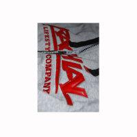 "Brachial Zip-Hoody ""Crew"" grey/red M"