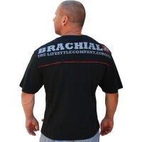 "Brachial Tee ""Flag"" black"
