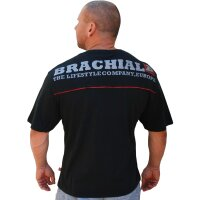 "Brachial Tee ""Flag"" black S"