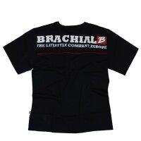"Brachial Tee ""Flag"" black M"