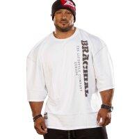 """Brachial T-Shirt """"Over"""" weiss S"""