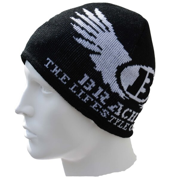 Brachial Beanie Ice black/white