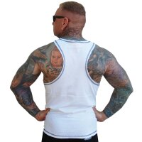 "Brachial Tank-Top ""Cool"" white/black M"