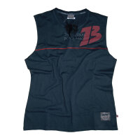 "Brachial Tank-Top ""Flag"" black/red"