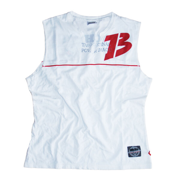 Brachial Tank-Top Flag white/red