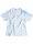 "Brachial T-Shirt ""Star"" weiss/hellblau"