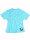 "Brachial T-Shirt ""Star"" hellblau/weiss"