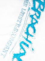 """Brachial Tee """"Star"""" white/lightblue S"""