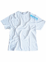 "Brachial T-Shirt ""Star"" weiss/hellblau M"