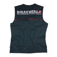 "Brachial Tank-Top ""Flag"" schwarz/rot S"