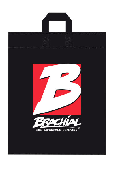 Brachial Shopping Bag black/white