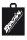 Brachial Shopping Bag black/white