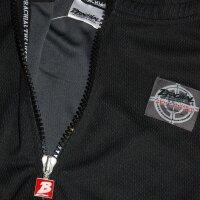 "Brachial Zip-Sweater ""Image"" schwarz/weiss"