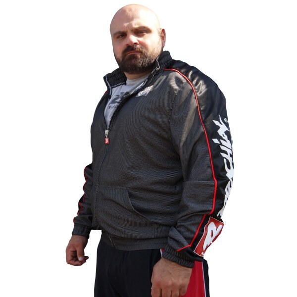 "Brachial Zip-Sweater ""Image"" black/grey"