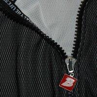 "Brachial Zip-Sweater ""Image"" black/grey S"