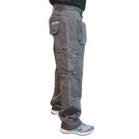 """Brachial Cargo Pants """"Zone"""" darkgrey"""