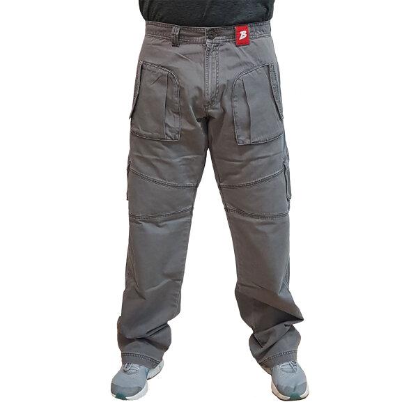 """Brachial Cargo Pants """"Zone"""" darkgrey M"""