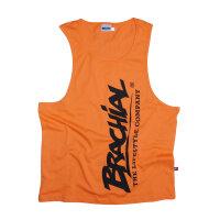 "Brachial Tank-Top ""Heat"" orange/black"""