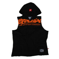 "Brachial Tank-Top ""Train"" black/orange"