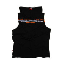 "Brachial Tank-Top ""Train"" schwarz/orange 3XL"
