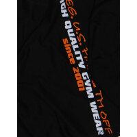 """Brachial Tank-Top """"Train"""" black/orange 3XL"""