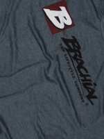 "Brachial Tee ""Sign next"" darkbluemelonge/black M"