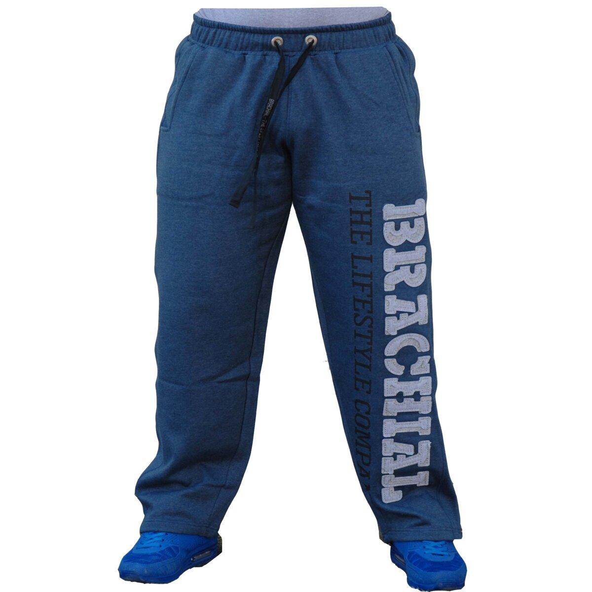 Brachial pantalones de deporte gym azul oscuro melonge gr for Deporte gym