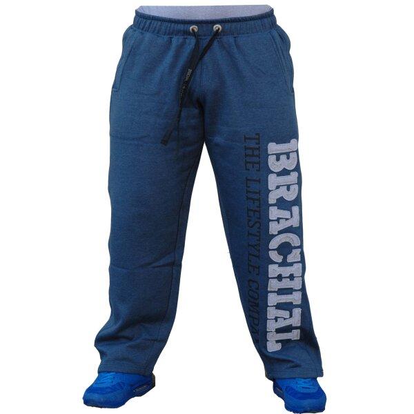 "Brachial Tracksuit Trousers ""Gym"" darkbluemelange/greymelange"