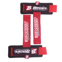 "Brachial Lifting Straps ""Drag"" black/red"