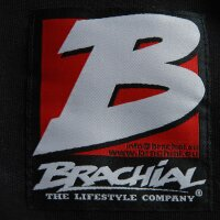 "Brachial Zip-Hoody ""Destroyer"" black/bluemelonge M"