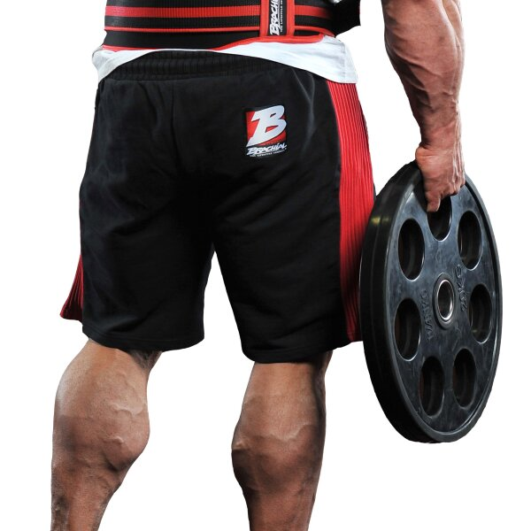 Brachial Short Destroyer schwarz/rot