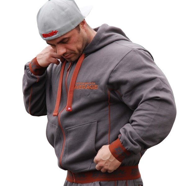 Brachial Zip-Hoody Spacy anthrazit