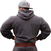 "Brachial Zip-Hoody ""Spacy"" anthracite"