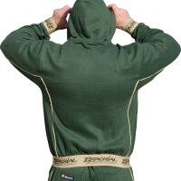 "Brachial Zip-Hoody ""Spacy"" military green"