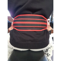 """Brachial Lifting Belt """"Lift"""" red/black XL"""