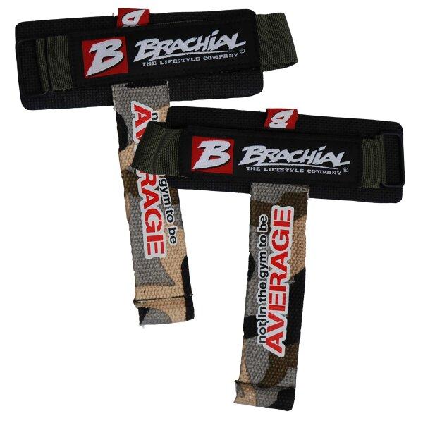 "Brachial Lifting Straps ""Drag"" camo/black"
