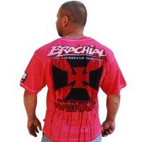 """Brachial T-Shirt """"Twister"""" lachs"""