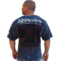 "Brachial T-Shirt ""Twister"" anthracite"