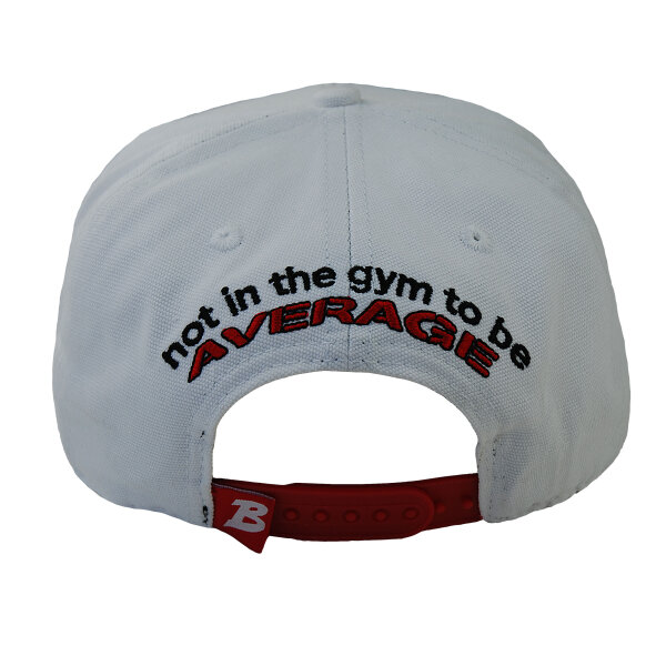 Brachial Snapback Cap Protect weiss/rot