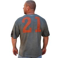 "Brachial T-Shirt""Back Flip"" grau"