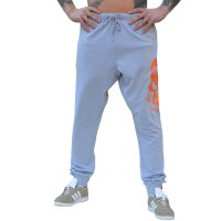 "Brachial Jogging Pants ""Shatter"" light grey"