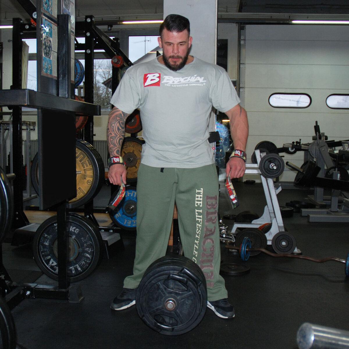Brachial pantalones de deporte gym caqui 59 95 for Deporte gym