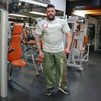 """Brachial Sporthose """"Gym"""" khaki S"""